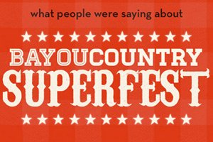 Image for Carrie Underwood, Jason Aldean Create Buzz at Bayou Country Superfest