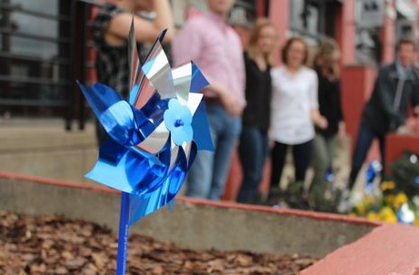 Image for Making a Difference With Blue Pinwheels