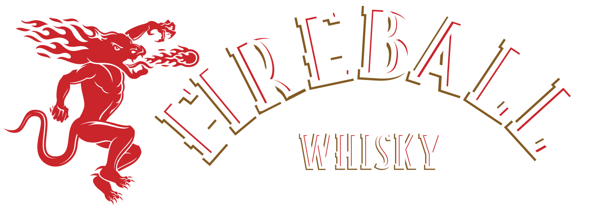 Fireball Whisky logo.
